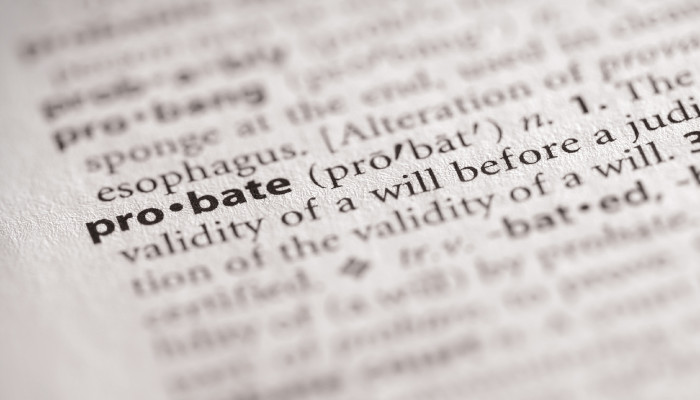 Working Definition of Probate